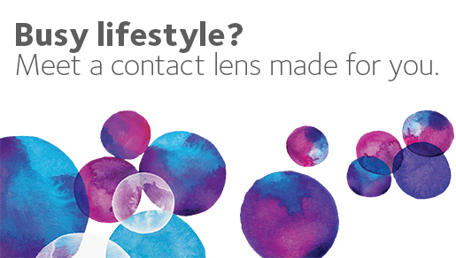 Busy lifestyle? A contact made for you